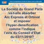 Le Grand Paris va-t-il absorber Arc Express et Orbival?