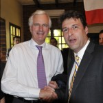 Sylvain Berrios avec Michel Barnier