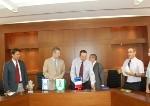 Signature de jumelage avec Ramatasharon