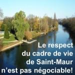 Grand Paris: le respect du cadre de vie de Saint-Maur n'est pas négociable. www.berrios.fr